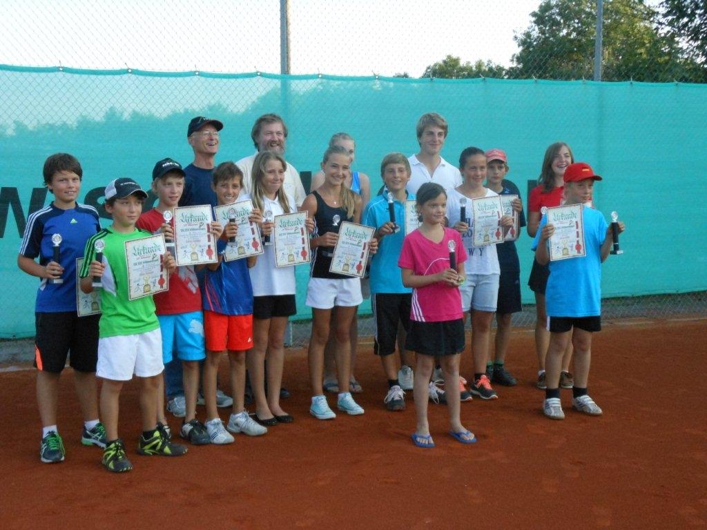 Siegerehrung LiPo Jugend 2012